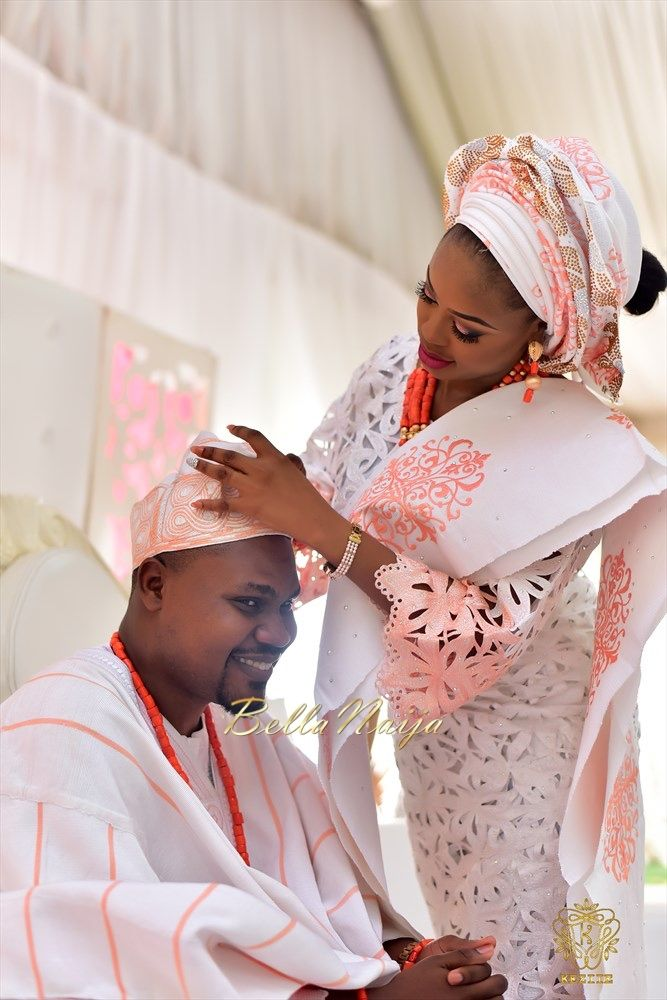 Lovely styles for yoruba wedding nigerian iro and buba for Nigerian traditional wedding dresses