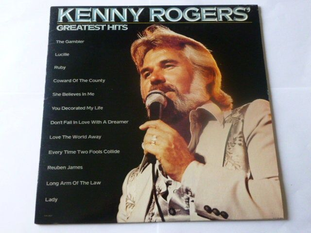 Country Records Kenny Rogers Greatest Hits Vinyl Record Lp Etsy Greatest Hits Lp Albums Vintage Vinyl Records