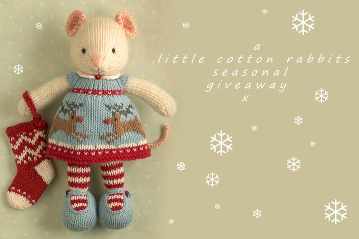 A Christmassy giveaway (Little Cotton Rabbits)