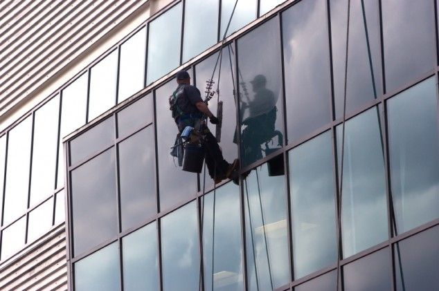 Streak Fighters delivers our commercial clients with high-rise window cleaning services for every type of building and property. Our highly trained staffs have vast experience with ladders, bosun's chair and rope access applications; as well we carry fully comprehensive insurance and are WorkSafeBC compliant.