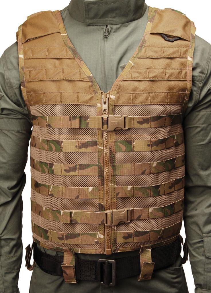 BLACKHAWK! Cutaway Omega Vest - Multi Cam