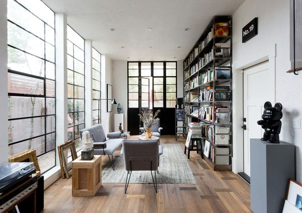 light filled library