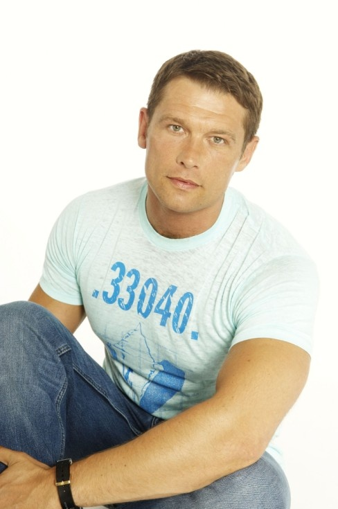 I have a crush.  The stage and TV actor, John Partridge.  Gay, British, Married.  I know, I'm pathetic, don't even start with me.