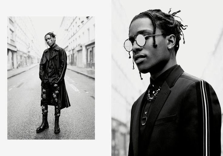 Рами Малек и Бой Джордж в рекламной кампании Dior Homme, Buro 24/7