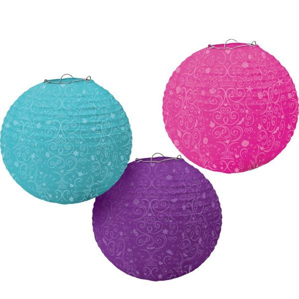 Disney Princess Paper Lanterns 3ct