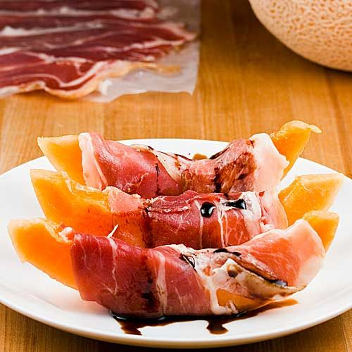 Prosciutto e Melone -- seriously until you try this combination -- don't knock it cuz its delisssshhhhh