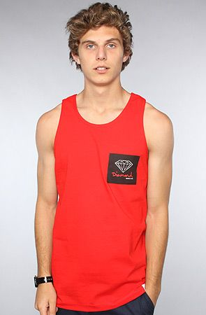 The OG Sign Tank in Red by Diamond Supply Co.