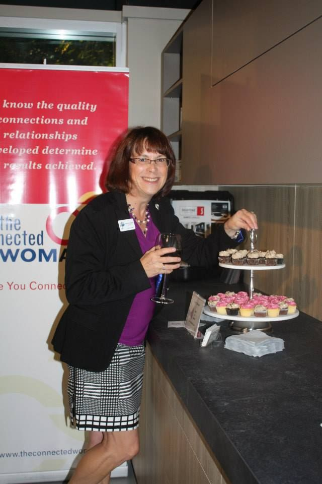 Just one Francine! Those little Cakes by Ginette are wonderful! Sept.30/14 Kitchen Party, #connectedwoman