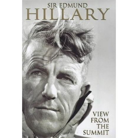 """""""Somewhat vigorous activity"""" is how Sir Edmund Hillary summarises the first 79 years of his life, and that modest and gentlemanly appraisal sets the tone for this most understated of memoirs. See if it is available: http://www.library.cbhs.school.nz/oliver/libraryHome.do"""