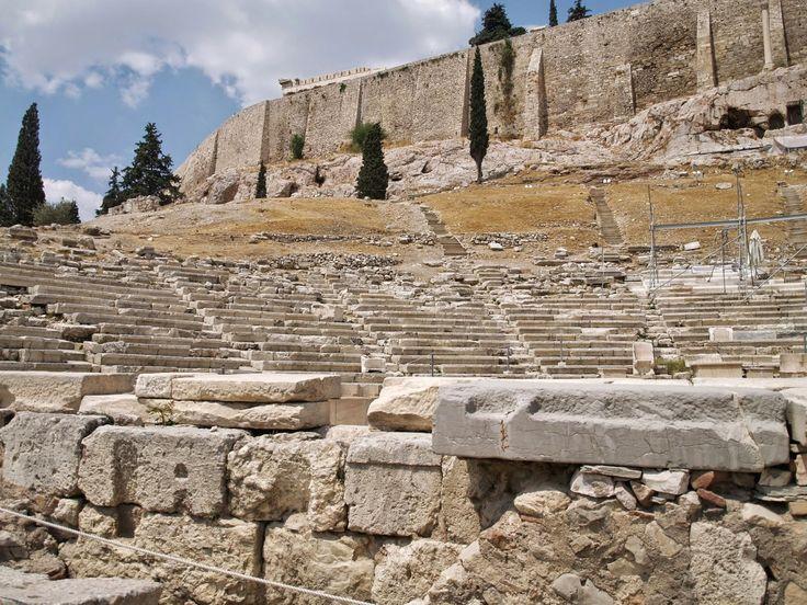 Θέατρο Διονύσου Ελευθερέως, Ακρόπολη Αθήνα.