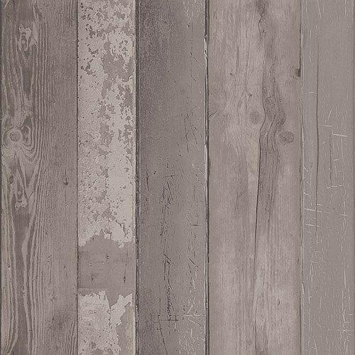 vtwonen Vliesbehang - Walnut Wood