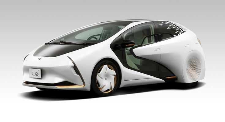 Toyota LQ: electric and emotional concept car