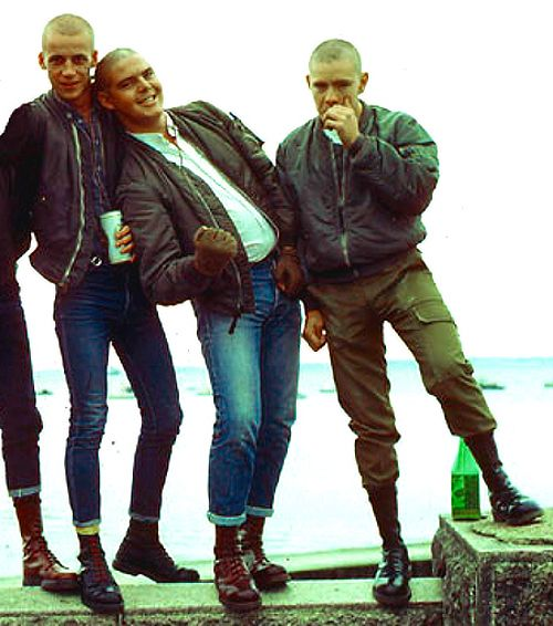 #skinhead flight jacket