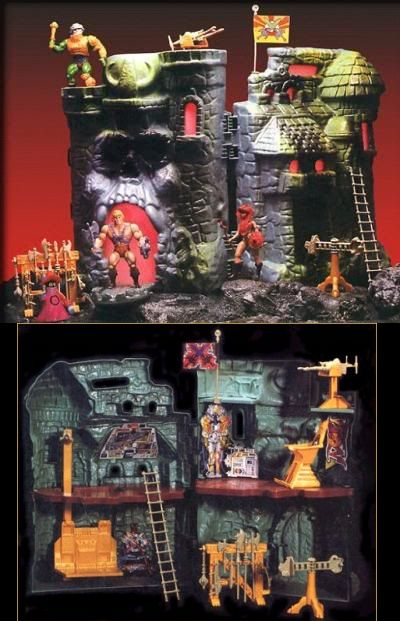 He-Man and the Masters of the Universe!  My cousin use to put Barbie in the dungeon.