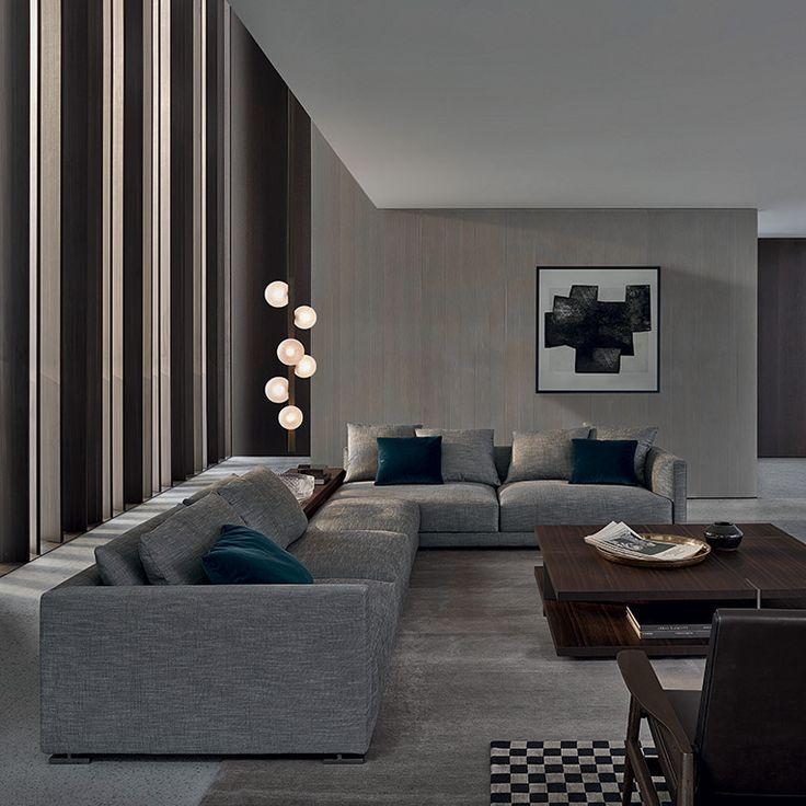 1000 idee su salotti moderni su pinterest soggiorno for Salotti moderni foto