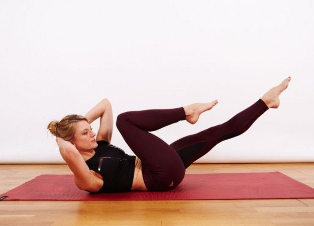 WATCH: 15-minute Pilates flat stomach workout video with FRAMEShoreditch
