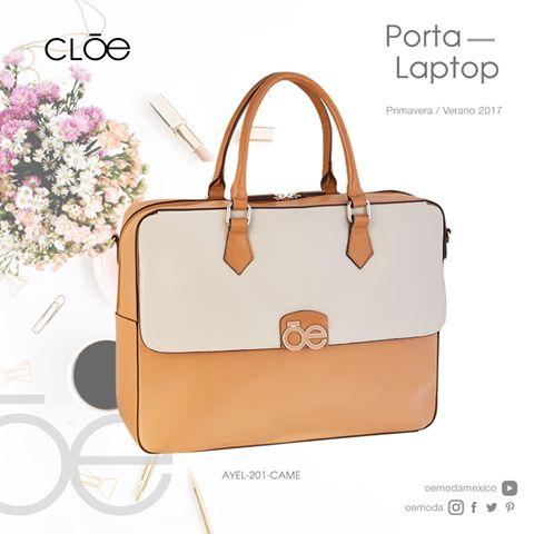 Sabemos de la importancia de siempre lucir con estilo, este Porta Laptop será tu compañero ideal para esas juntas de trabajo. Cloe PV2017