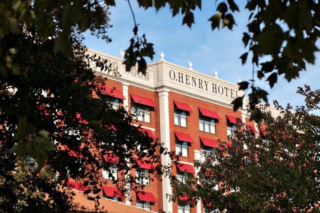 I love this concept- The O Henry hotel in Greensborough NC. one day I will stay there