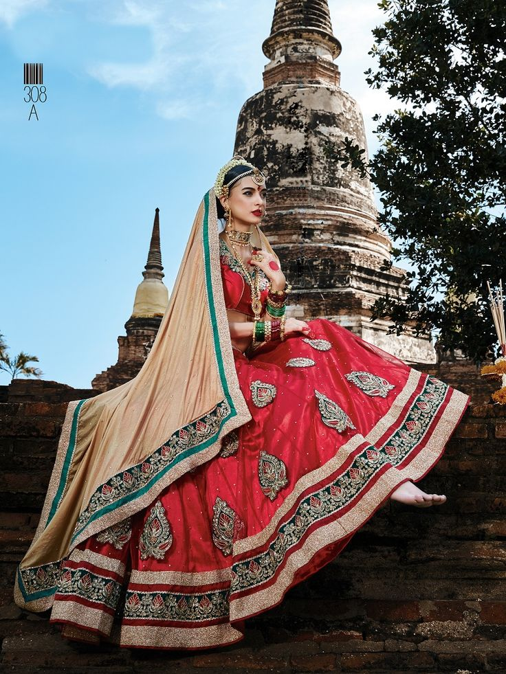Purchase This Lehenga Choli http://gunjfashion.com/