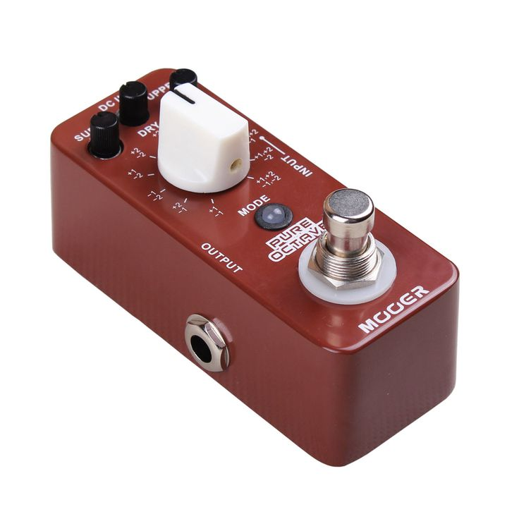 cool New Mooer Pure Octave Octaver Micro Guitar Effects Pedal!   Check more at http://harmonisproduction.com/new-mooer-pure-octave-octaver-micro-guitar-effects-pedal/