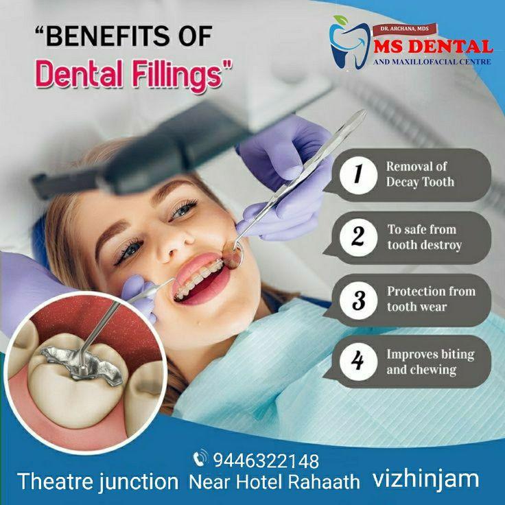 MS Dental in 2020 Dental fillings, Dental clinic, Dental