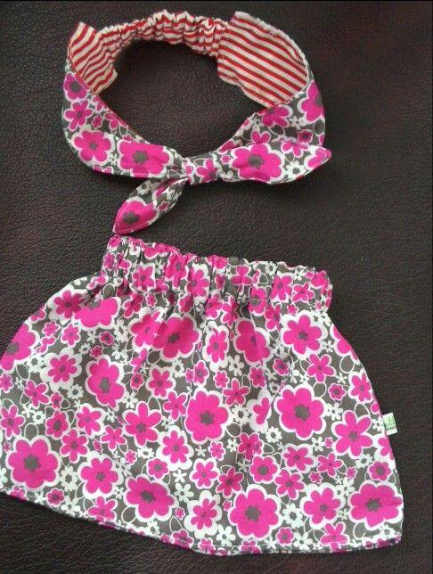 Baby girl skirt n headband