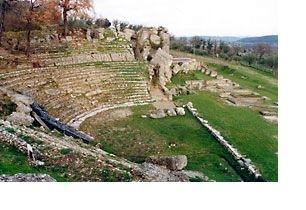 "Urbisaglia: Archaeological park of the Roman Urbs ""Salvia"". Marche, Italy"