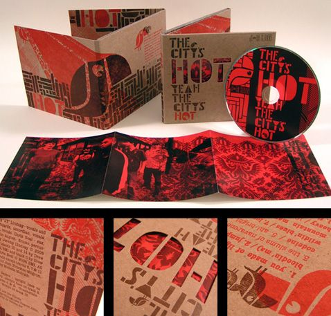 very cool cd case design