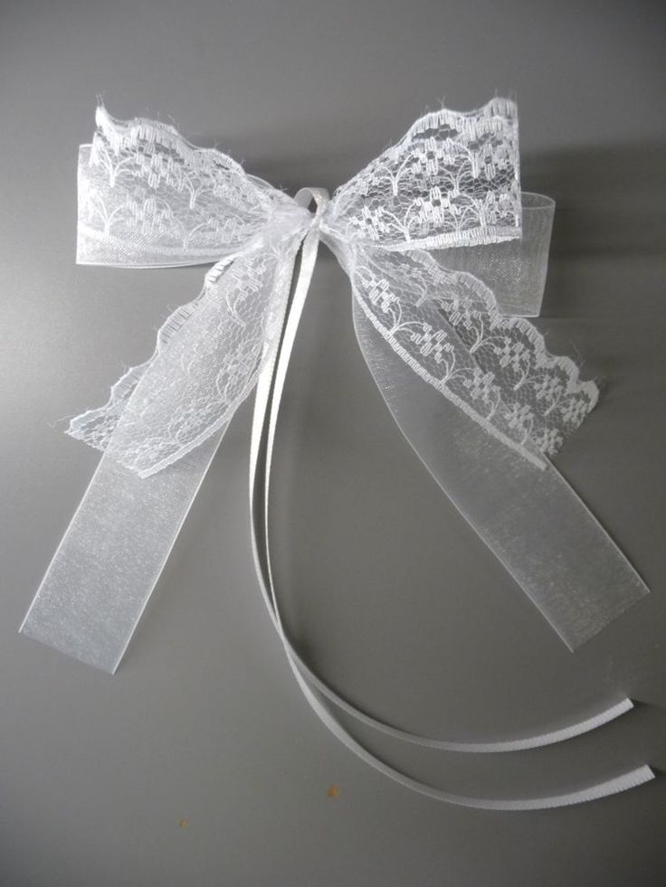 Auto Loops Customized Antenna Grinding Wedding Chair Bow | Furniture & Home, Wedding Decorations, Ribbons & Ribbons | eBay!