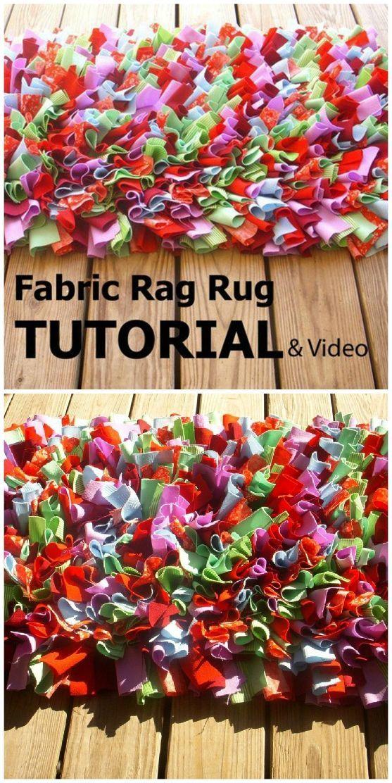 Easy Rag Rug Diy Watch The Quick Video