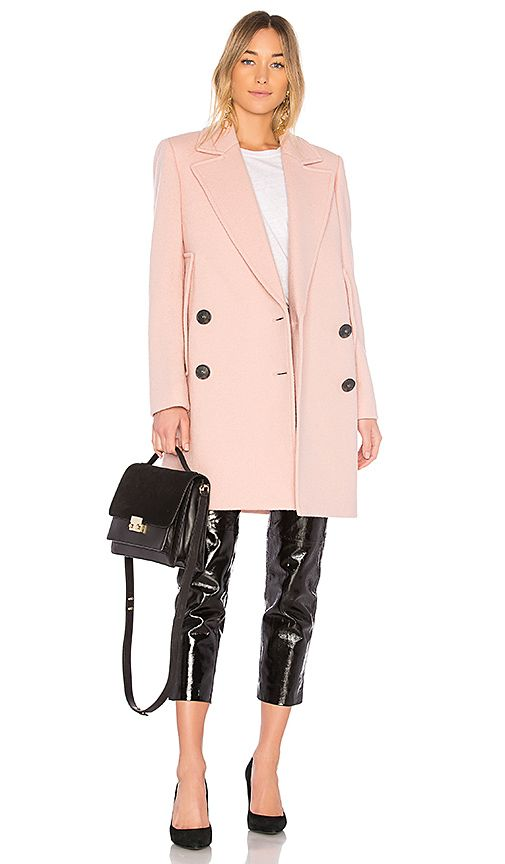 fa28f62709 Shop for Theory Cape Coat in Chalk Pink at REVOLVE. Free 2-3 day shipping  and returns, 30 day price match guarantee.