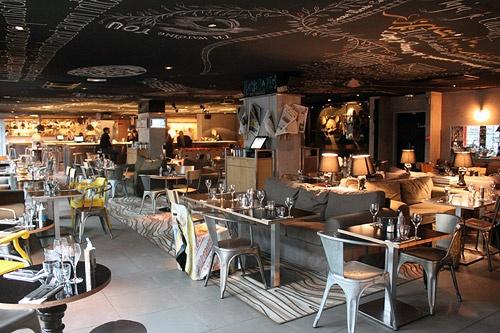 Mama Shelter Restaurant, Paris