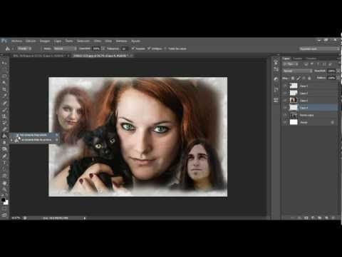 TUTORIAL PHOTOSHOP ESPAÑOL: crear un collage
