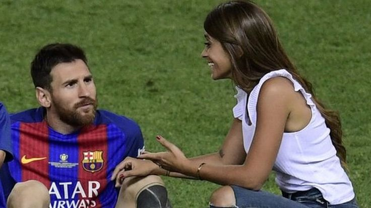 "Lionel Messi prepares for his wedding day https://tmbw.news/lionel-messi-prepares-for-his-wedding-day  Football superstar Lionel Messi will marry his childhood sweetheart in his hometown in Argentina on Friday.The Barcelona player is returning to the city of Rosario to wed Antonella Roccuzzo, whom he met there before he moved to Spain aged 13.Argentine newspaper Clarín has called it ""the wedding of the year"" and even ""the wedding of the century"".Messi's teammates, including Luis Suárez and…"