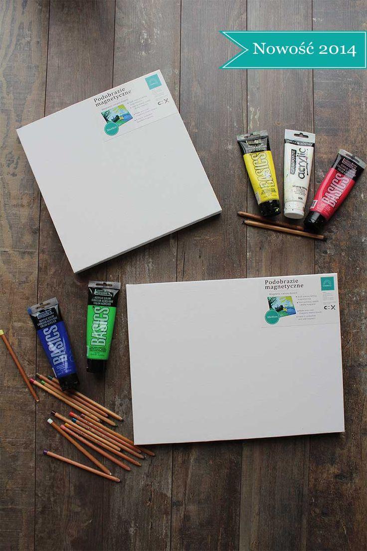Podobrazia magnetyczne to nowośc na polskim rynku. Blejtram, który ozdobicie według uznania a jednocześnie tablica magnetyczna, która przyda sie w domu lub biurze. Dla wszystkich, którzy lubią otaczac sie pieknymi, kolorowymi rzeczami ... własnego projektu! www.facebook.com/mazuinspiracje Introducing MAZU magnetic canvas boards