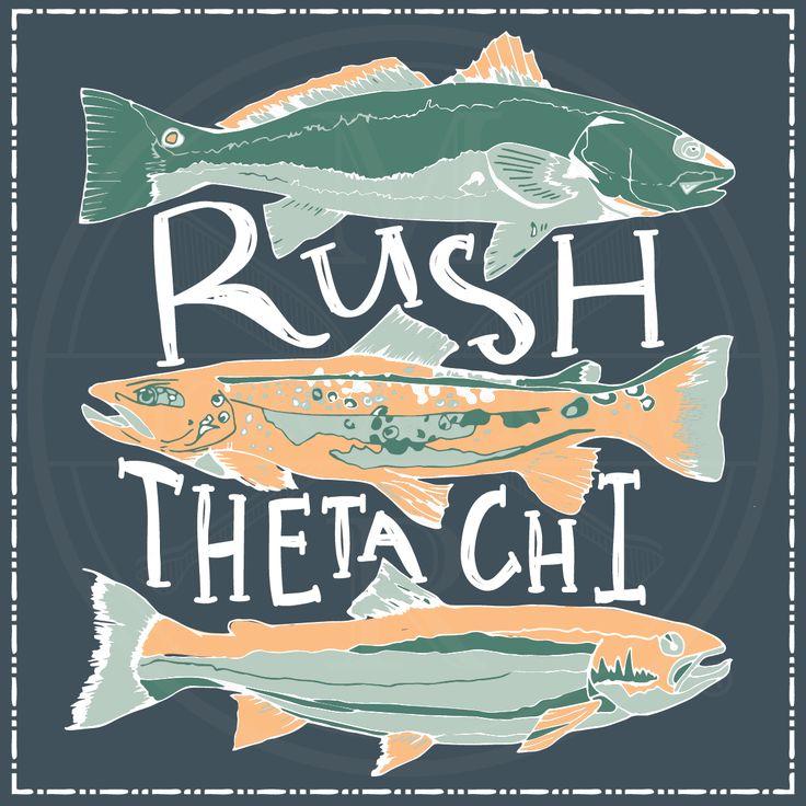 Morgan Row | Greek Tee Shirts | Greek Tanks | Custom Apparel Design | Custom Greek Apparel | Fraternity Tee Shirts | Fraternity Tanks | Fraternity Shirt Designs | Fraternity Shirt Ideas | Greek Life | Hand Drawn | Fraternity | Brotherhood | Rush | Theta Chi | Fishing | Fish