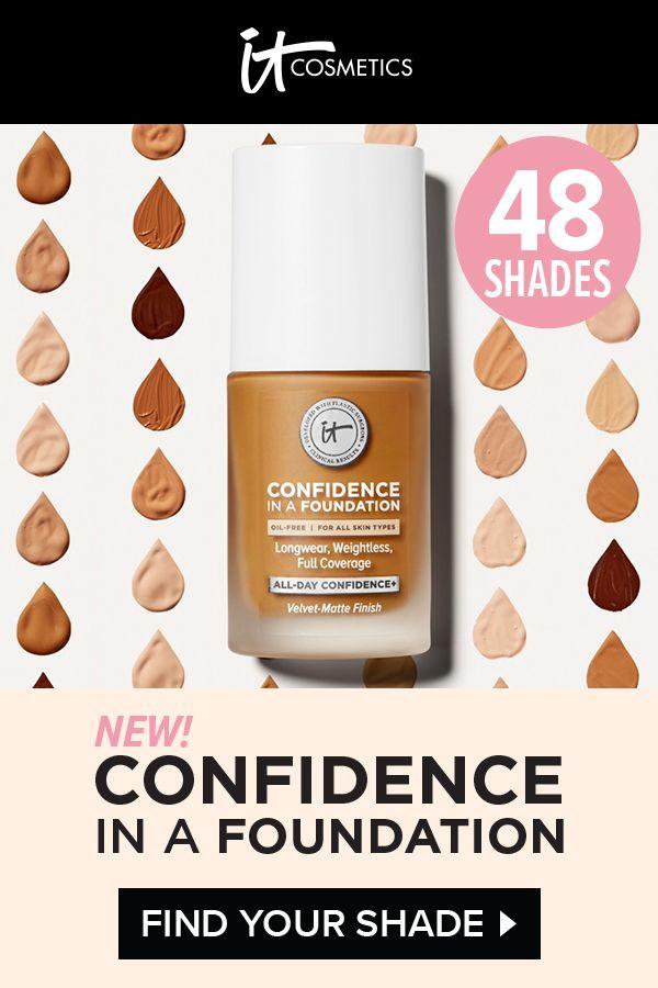 Znalezione obrazy dla zapytania It's cosmetics Confidence in Foundation