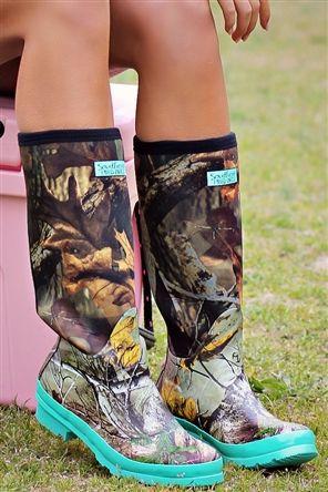 Camo Boots, Pretty in Camo Boots