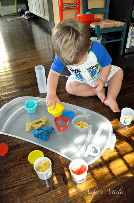 Click. Pray. Love: Pre-Toddler (12-18 months) Activity #5: What to do with Play-Doh?
