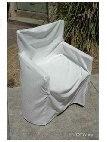 Off White Chair Cover