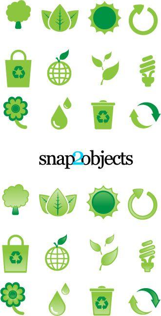 Free Ecological Vector Design Elements