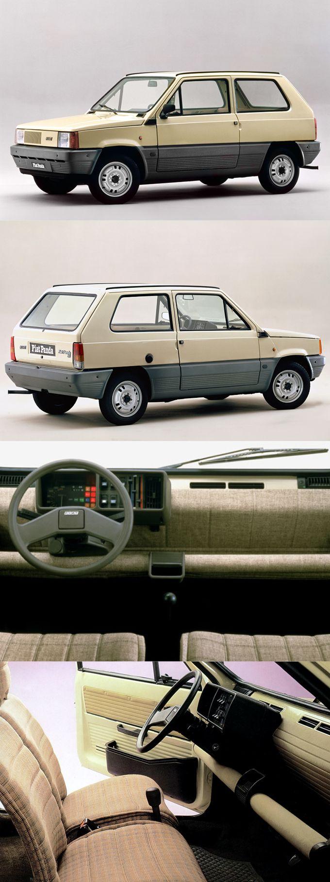 1980 Fiat Panda / 141 / Italy / beige / 17-170