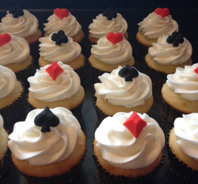 17 Best Images About Vegas Cupcake Ideas On Pinterest