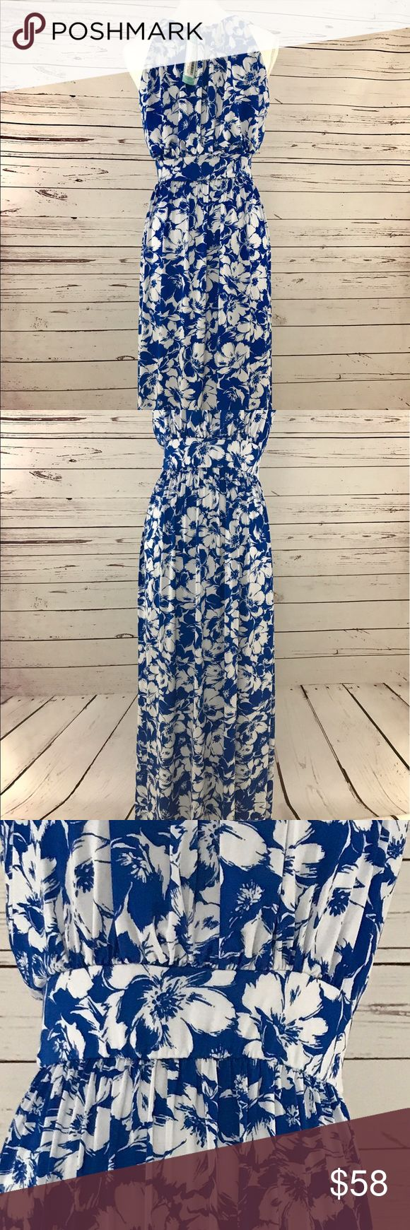 🌺🌸🌹 World traveler blue tropics ocean dress Hand picked by a stylist! Look gorgeous in this maxi dress. Exclusive made for stitchfix. Blue and white tropical design will sweep you away. Stitchfix is known for its quality and stylish items. Don't miss out on this discount! Items go fast! Dresses Maxi