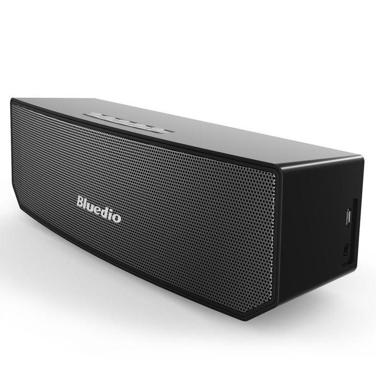 Bluedio БС-3 (Верблюд) Bluetooth Soundbox Спикер 3D Surround Стерео Hifi 2x5 Вт Беспроводная Мини Портативные Колонки AUX Линии в Подлинной