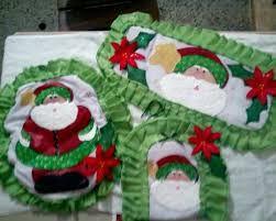 juegos de baño navideños en foami ile ilgili görsel sonucu