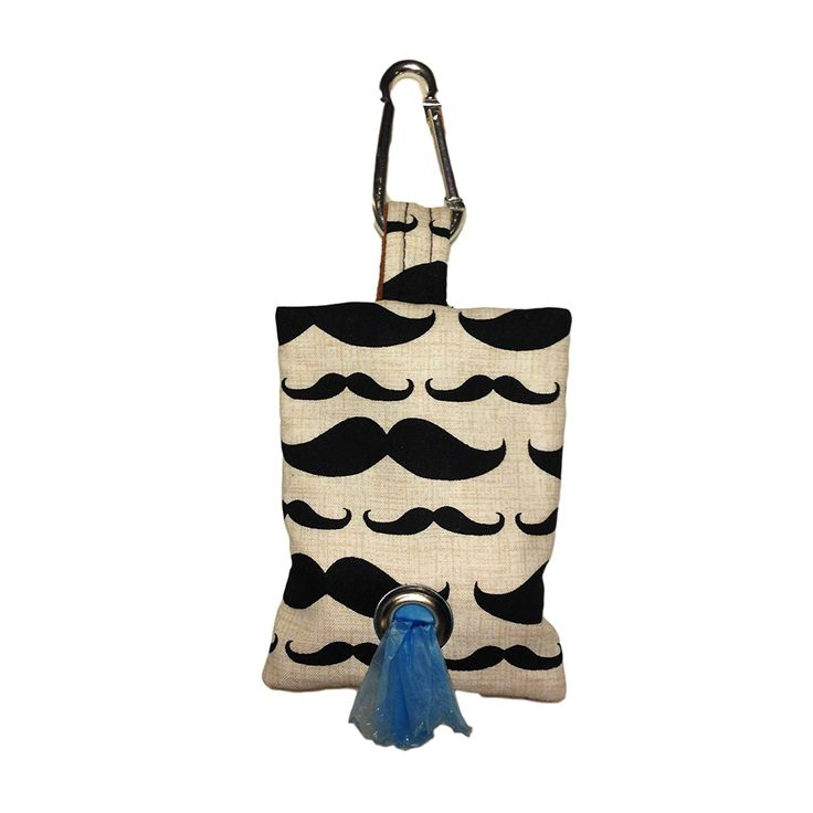 Barkertime Mustache Dog Poop Bag Dispenser - Made in USA - Great Gift for Dog Owner >>> Review more details here : Dog Litter and Housebreaking