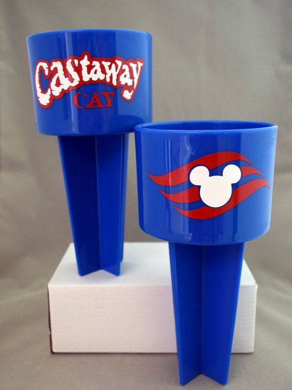 Disney Cruise Line DCL Beach Cup Holder  by YourWishIsMyCreation