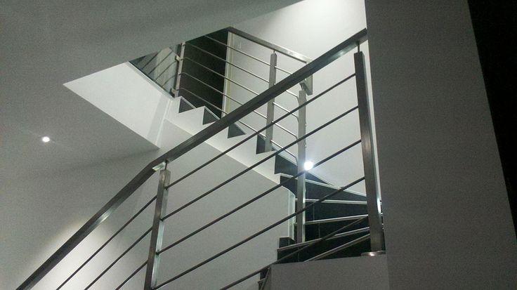 50 best escalier images on pinterest - Rampe escalier cable acier ...