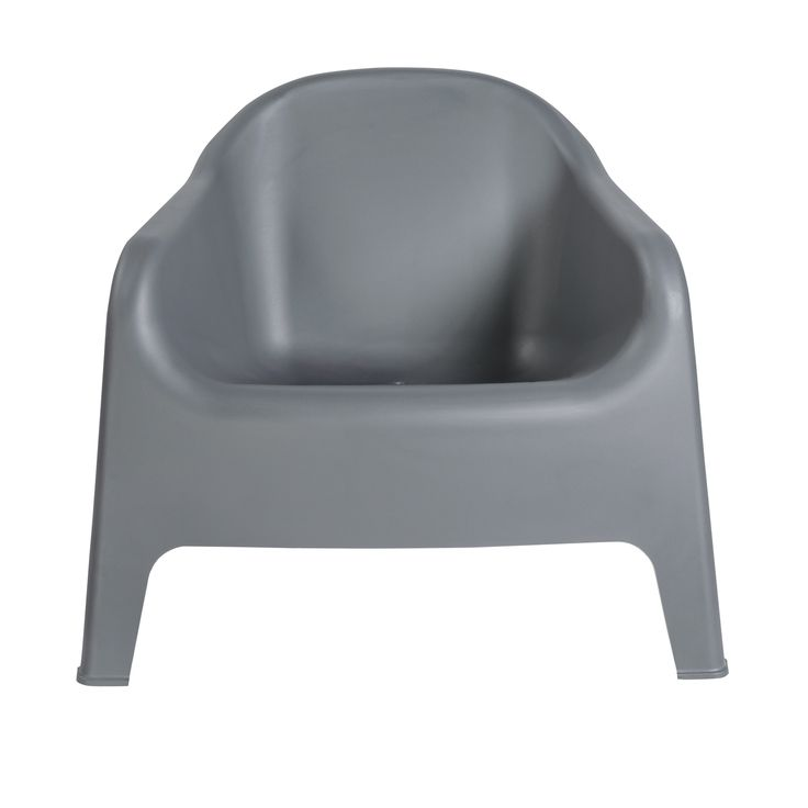 Buoy Stacking Lounge Chair in Dark Gray (Set of 4)